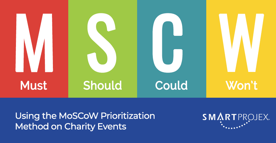 Using the MoSCoW Prioritization Method on Charity Events